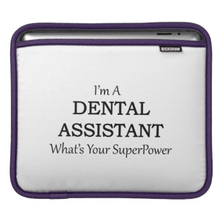DENTAL ASSISTANT SLEEVES FOR iPads