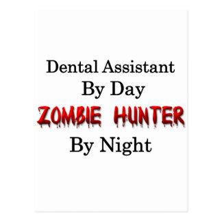 Dental Assistant/Zombie Hunter Postcard