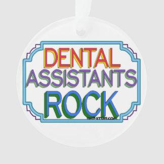 Dental Assistants Rock Ornament