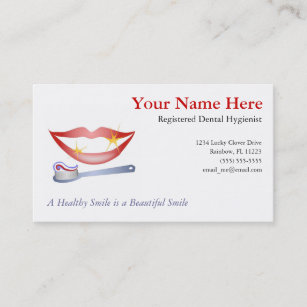 Dental hygiene business cards templates zazzle dental business card reheart Gallery