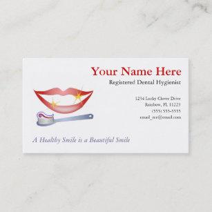 Dental business cards templates zazzle dental business card colourmoves