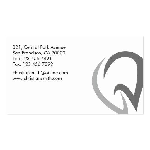 Dental - Business Cards (back side)