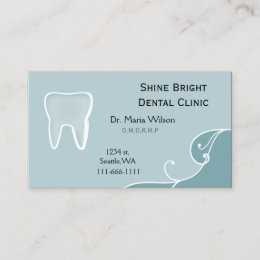 Office visit business cards templates zazzle dental businesscards with appointment card reheart Image collections