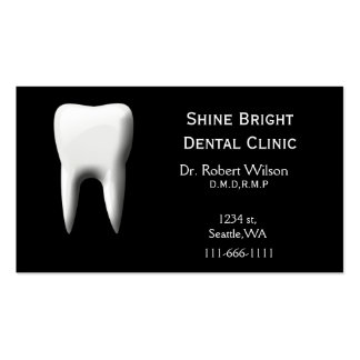 Dental businesscards with appointment card Double-Sided standard business cards (Pack of 100)