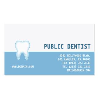 Dental Care Dentist Business Card