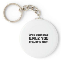 Dental Care Motivational Quote Dentist Keychain