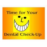 Dental CheckUp Postcard