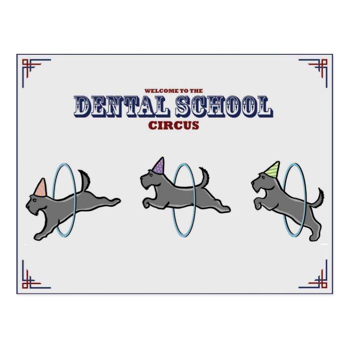 """Dental Circus"" Card"