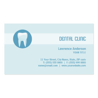 Dental Clinic Dentist business card