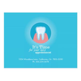Dental Clinic Postcard Custom Appointment Reminder