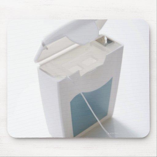Dental floss mousepads
