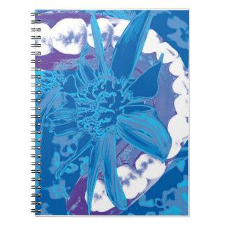 Dental Flower & White Teeth Dentist Notebook