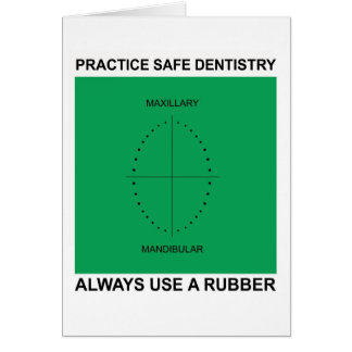 Dental Greeting Card for Dentists
