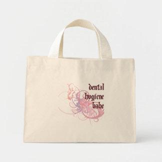 Dental Hygiene Babe Mini Tote Bag