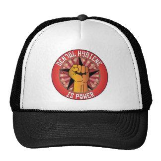 Dental Hygiene Is Power Trucker Hats