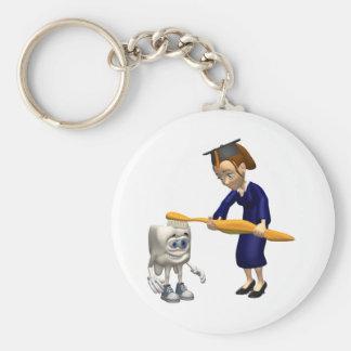 Dental Hygiene or Dentist Graduation Gifts Keychain