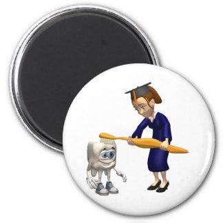 Dental Hygiene or Dentist Graduation Gifts Refrigerator Magnet