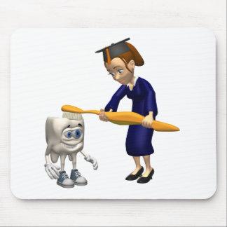 Dental Hygiene or Dentist Graduation Gifts Mouse Pad