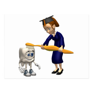 Dental Hygiene or Dentist Graduation Gifts Postcard