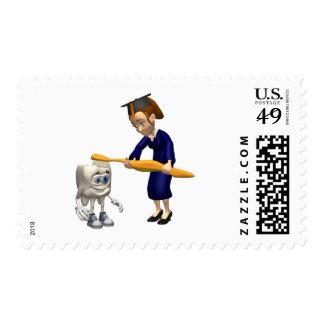 Dental Hygiene or Dentist Graduation Gifts Stamp