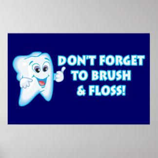 Dental Hygiene Posters