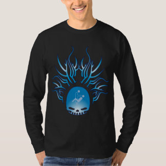Dental Hygiene Skull T-Shirt