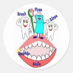 Dental Hygiene Stickers