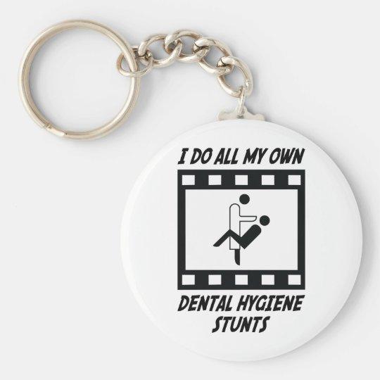 Dental Hygiene Stunts Keychain