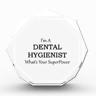 DENTAL HYGIENIST ACRYLIC AWARD