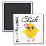 Dental Hygienist Chick v2 Refrigerator Magnet