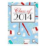 Dental Hygienist / Dental School Graduation - Blue Cards