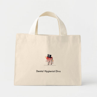 Dental Hygienist Diva Tote Canvas Bags