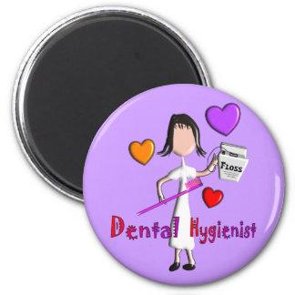 Dental Hygienist Gifts Adorable Hearts Design Refrigerator Magnets