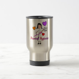 Dental Hygienist Gifts Adorable Hearts Design Coffee Mugs