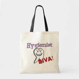 "Dental Hygienist Gifts ""Hygienist DIVA!"" Bags"