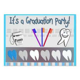 Dental Hygienist Graduation Invitations