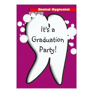 Dental Hygienist Graduation Party Invitations 2012