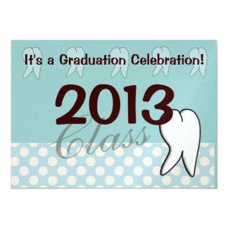 Dental Hygienist Graduation Party Invitations 2013