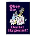 Dental Hygienist Greeting Card