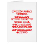 Dental Hygienist Humor ... Modeling Career Cards