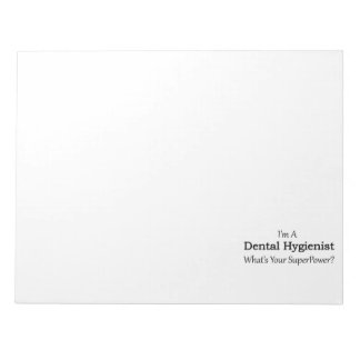 Dental Hygienist Notepad
