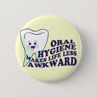 Dental Hygienist Pinback Button