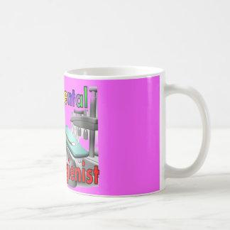 Dental Hygienist Sock Monkey Gifts Mugs