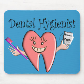 Dental Hygienist T-shirts & Gifts Mouse Pad