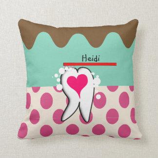 Dental Hygienist Tooth Pillow Customizable III