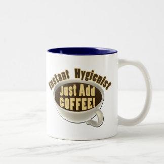Dental Hygienist Two-Tone Coffee Mug