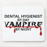 Dental Hygienist Vampire by Night Mouse Pad