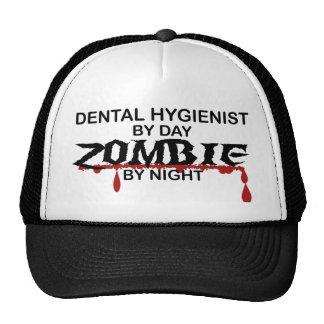 Dental Hygienist Zombie Trucker Hat