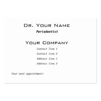 Dental implant and bridge Business Card