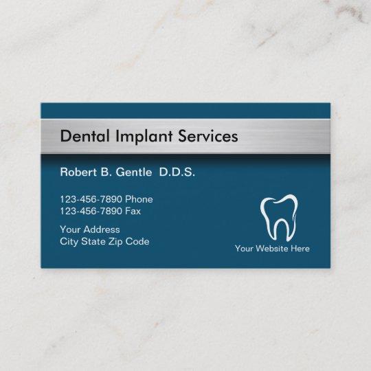 Dental implants business cards zazzle dental implants business cards reheart Choice Image